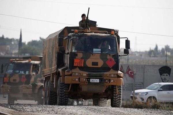 عقب نشینی نظامیان ترکیه از شمال شرق سوریه