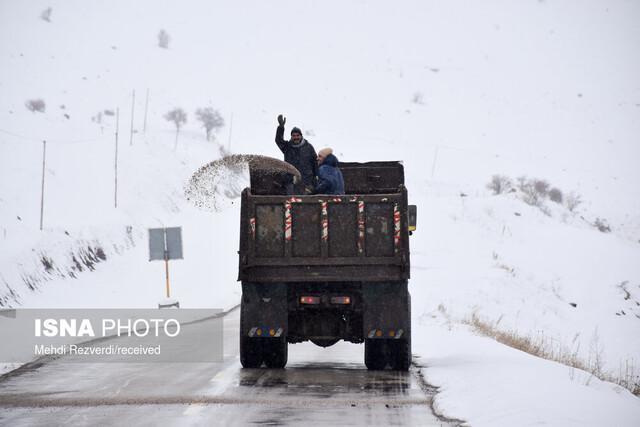 6790 کیلومتر از جاده های خراسان شمالی برف روبی شدند