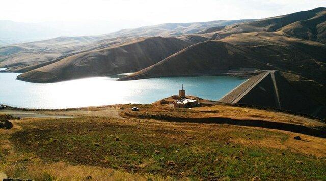 کاهش 21 درصدی آب در سدهای آذربایجان غربی
