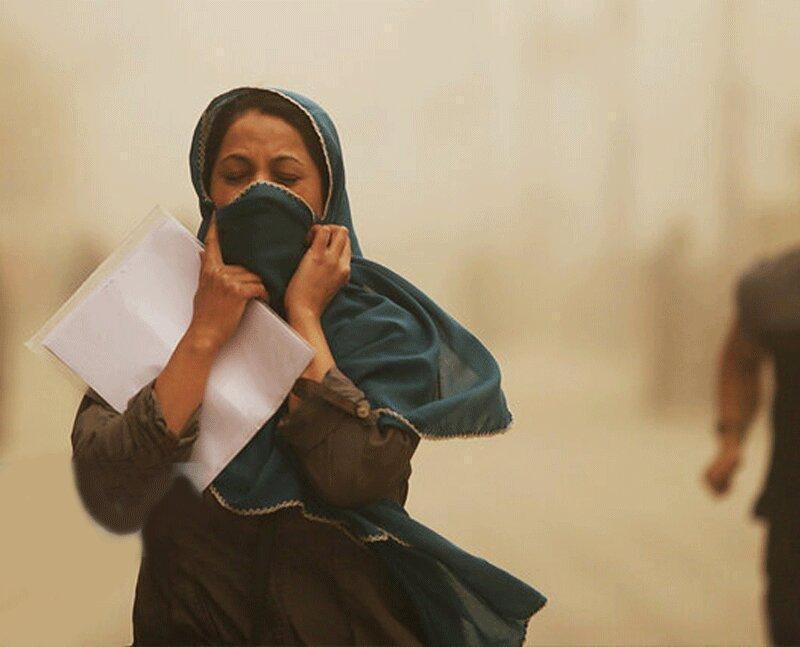 گرد و غبار در آبادان به 5 برابر حد مجاز رسید