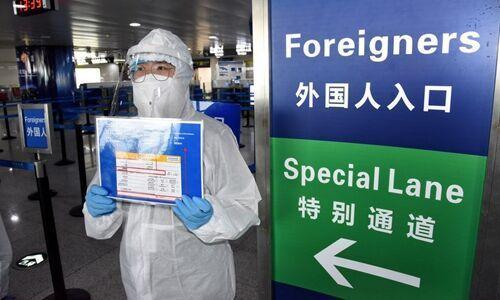 خبرنگاران چین ورود اتباع خارجی به کشور را ممنوع نمود