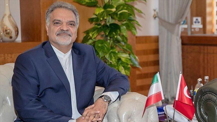 خبرنگاران سفیر ایران در آنکارا از ارسال هدایای ترکیه به ایران قدردانی کرد