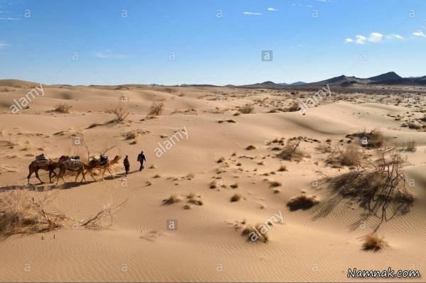 آب و هوا و جاذبه های منطقه خور و بیابانک