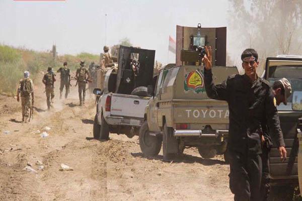 عملیات نیروهای حشد شعبی در دیالی، هلاکت 4 عنصر تکفیری داعش