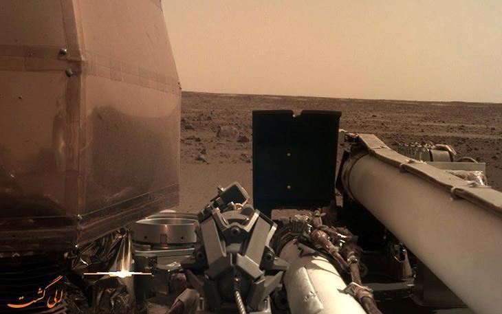 ثبت نخستین مریخ لرزه ها توسط کاوشگر اینسایت ناسا
