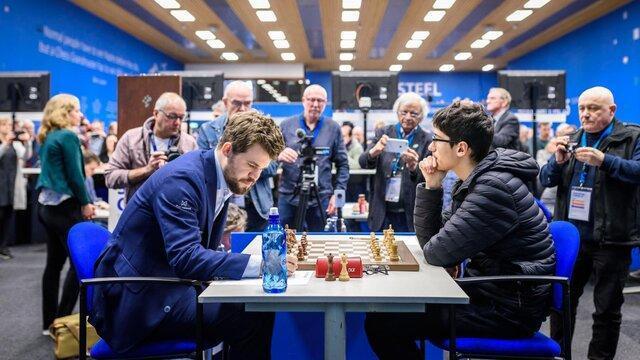 ناکامی فیروزجا مقابل مرد شماره یک شطرنج دنیا