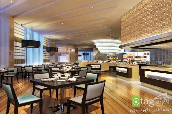دکوراسیون داخلی هتل و رستوران شیک و جالب ، طراحی داخلی