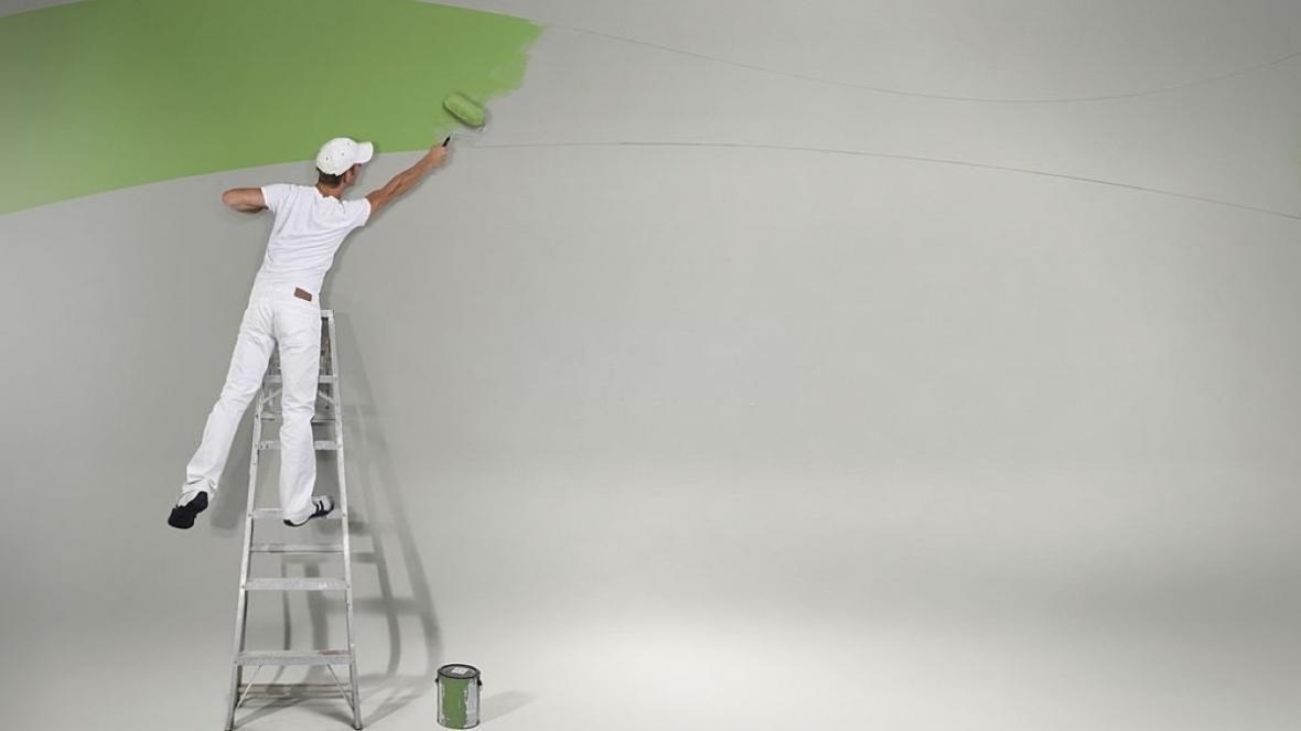 معرفی انواع نقاشی ساختمان و تکنیک های اجرای آن