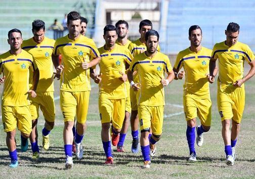 تقابل تیم فوتبال نفت گچساران و شهرداری بندرعباس