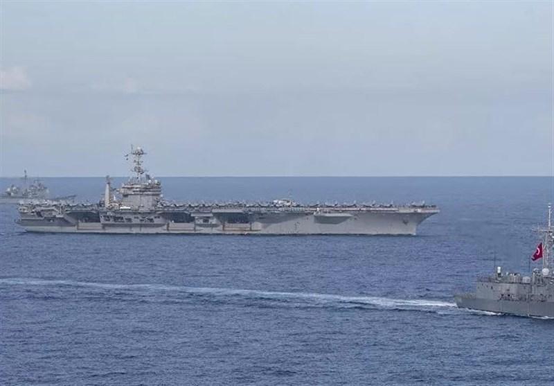 رزمایش مشترک دریایی ترکیه و قبرس ترک نشین در مدیترانه