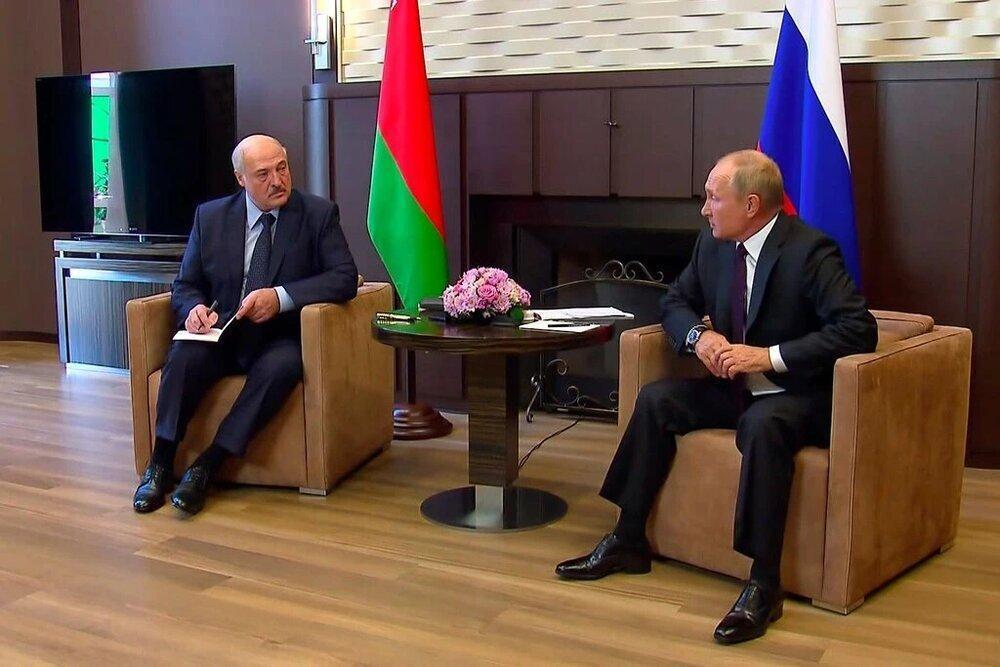 اولین قدم پوتین برای نجات لوکاشنکو