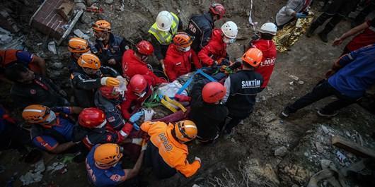 افزایش تلفات زلزله ترکیه تا 35 نفر