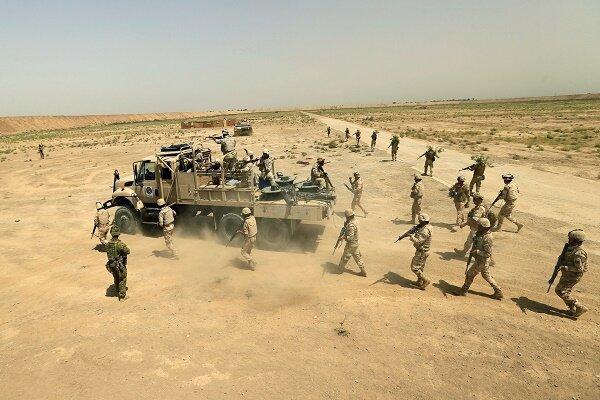 عملیات ارتش عراق برای پاکسازی محور شمالی استان صلاح الدین