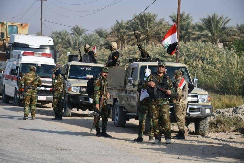 خبرنگاران الحشد الشعبی نتایج عملیات علیه داعش در غرب عراق را تشریح کرد