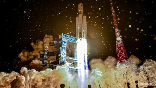 آزمایش دوباره راکت جدید Angara A5 روسیه