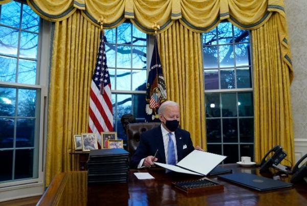خبرنگاران بایدن: محتوای نامه ترامپ را فاش نمی کنم