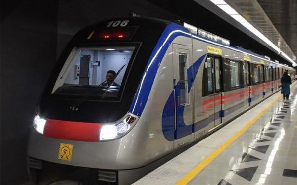 خبرنگاران عملیات اتصال ایستگاه راه آهن به ایستگاه های مترو تهران