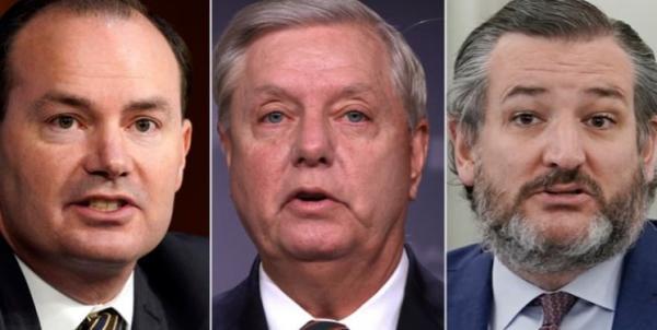 روز سوم محاکمه ترامپ در سنا ؛ دیدار جنجالی سناتورهای جمهوری خواه و وکلای ترامپ
