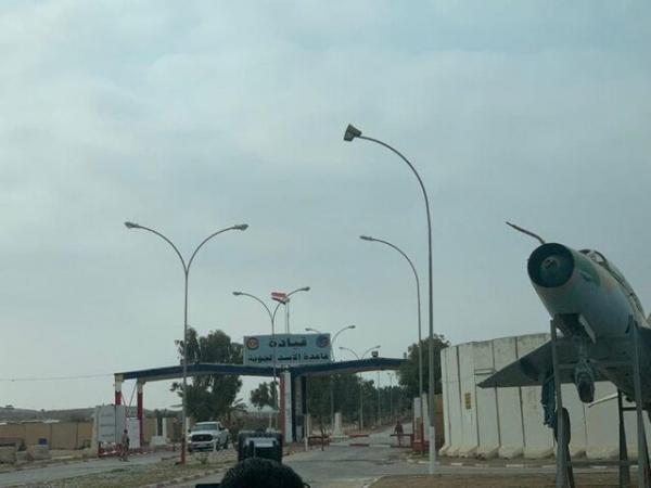 تدابیر شدید امنیتی نیروهای آمریکایی در پایگاه عین الأسد