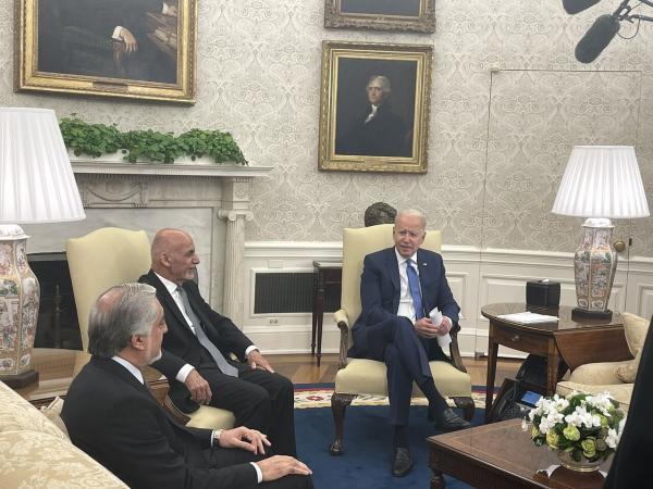 بایدن: همکاری بین آمریکا و افغانستان سرانجام نمی یابد