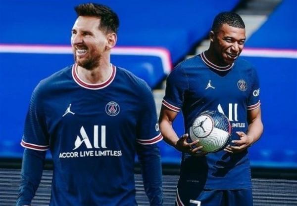 لوشامپیونه، اولین بازی مسی با پیراهن پاری سن ژرمن، پیروزی PSG با گل های امباپه